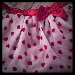 Velvet and Satin Koala Kids skirt